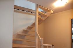 Vaste trap naar zolder in nijmegen type 2 kwarttrap for Van vlizo naar vaste trap