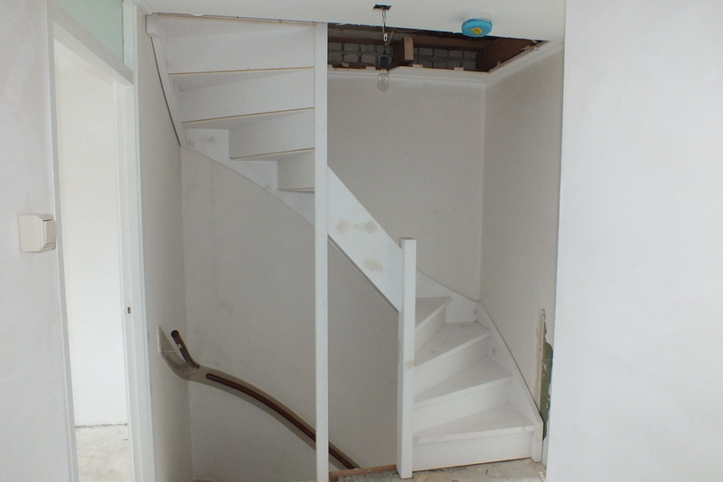 Vaste trap naar zolder nieuw vennep trappen totaal for Van vlizo naar vaste trap