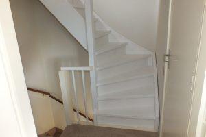 Vaste zoldertrap dichte uitvoering in rheden trappen totaal for Vaste trap ipv vlizotrap
