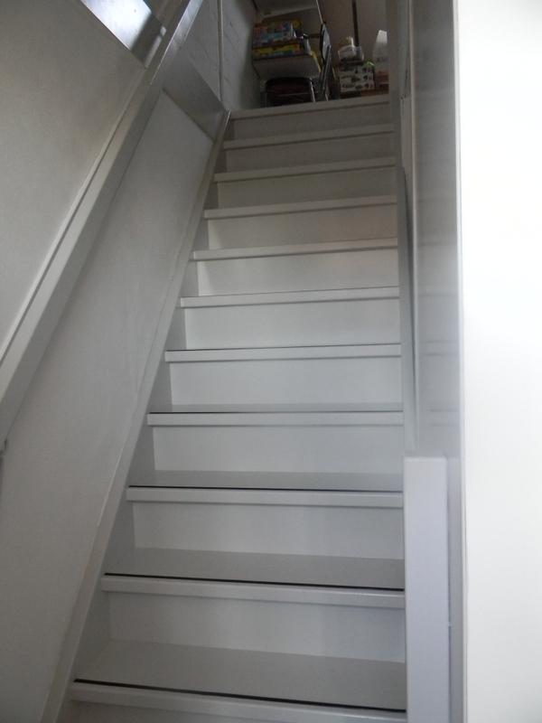 dichte steektrap vanuit slaapkamer naar zolder drunen met