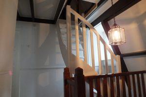 Wonderbaar vlizotrap vervangen door vaste trap Laren | Trappen Totaal IM-72