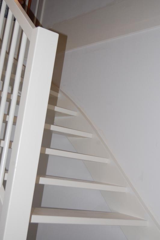 Dichte vaste trap vuren veldhoven2 trappen totaal for Dichte trap maken