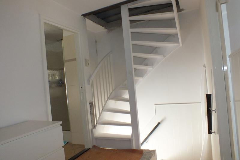 Open zoldertrap in boxmeer trappen totaal for Trap plaatsen naar zolder