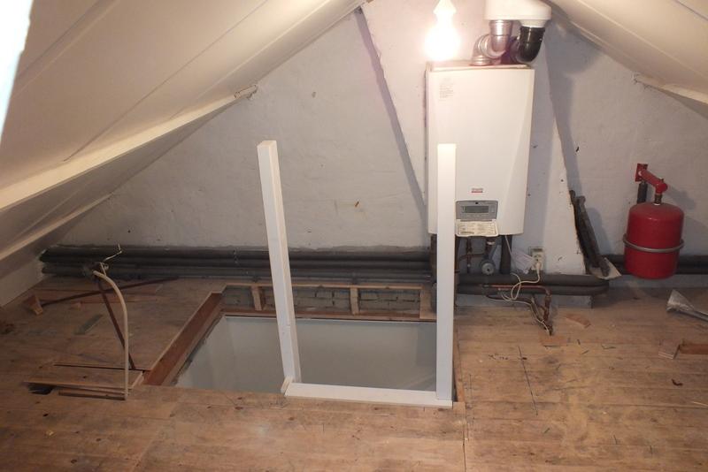 Vaste trap naar zolder in leerdam trappen totaal for Van vlizo naar vaste trap