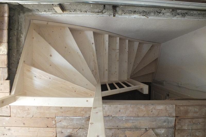 Vaste trap naar zolder in boxmeer trappen totaal for Vaste zoldertrap incl plaatsen en inmeten
