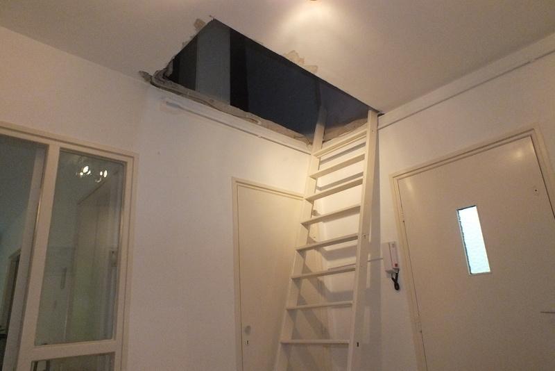 Kosten trap plaatsen best houten trap with kosten trap for Trap plaatsen naar zolder