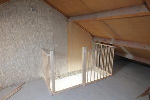 dichte halfslag trap naar zolder hilversum trappen totaal. Black Bedroom Furniture Sets. Home Design Ideas