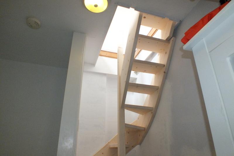 Trap naar zolder in rotterdam 2 trappen totaal for Trap plaatsen naar zolder