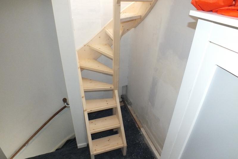 Kosten vaste trap naar zolder for Vlizotrap plaatsen