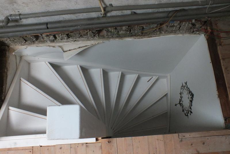 Vaste trap naar zolder in baarlo trappen totaal for Van vlizo naar vaste trap